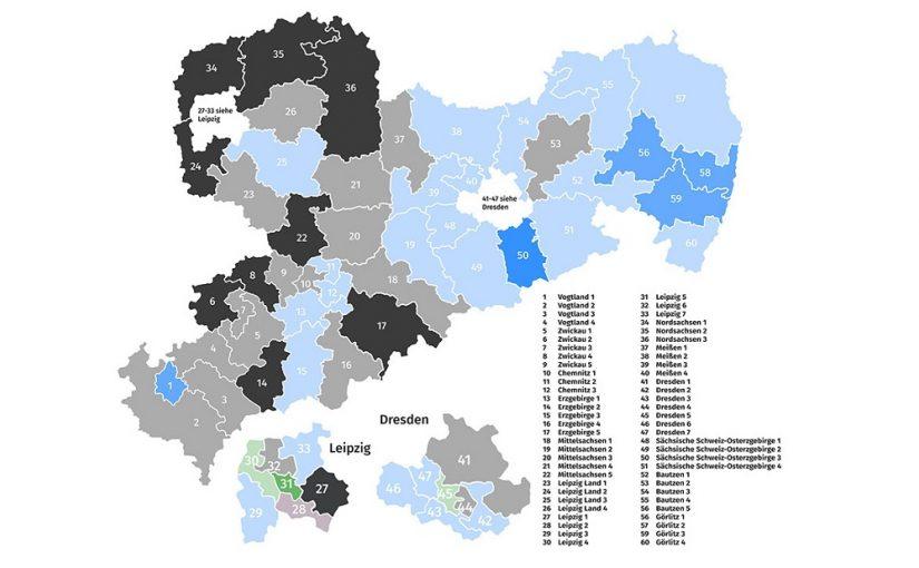 Oberlausitz ist und bleibt AfD-Hochburg