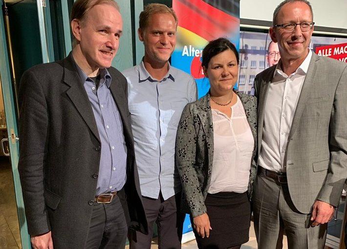 Gottfried Curio zu Gast in Bautzen