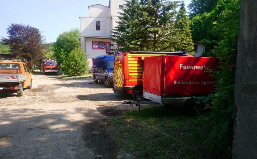 Feige Anschläge auf Bauunternehmen im Oberland